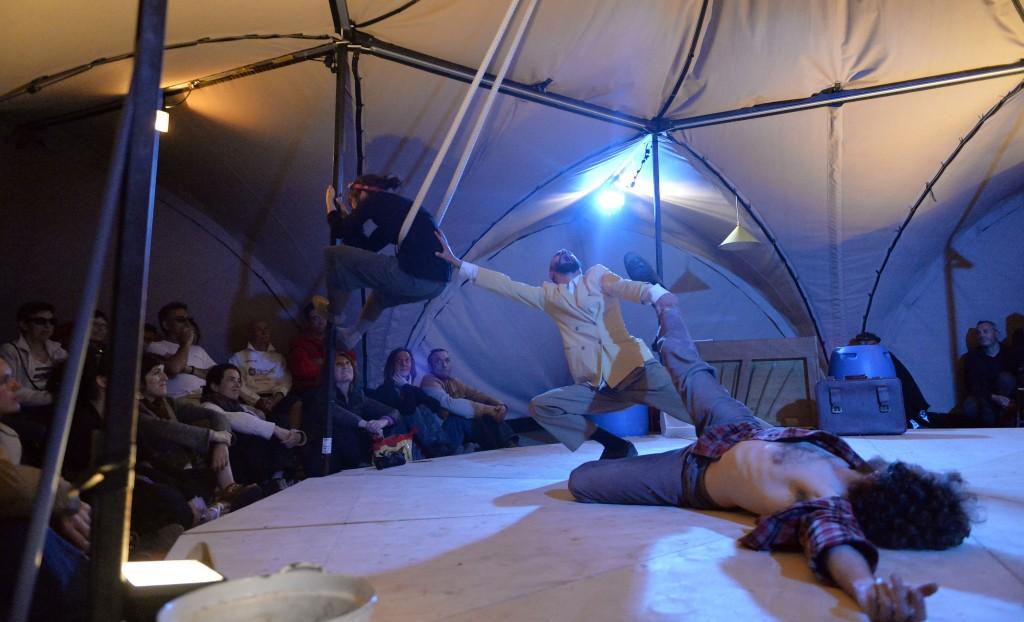 Cabaret déluge de la Compagnie Scène musicale mobile